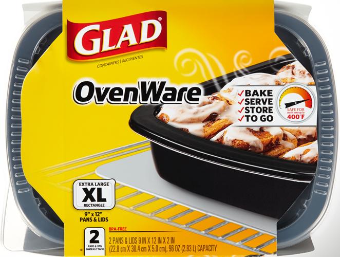 9x12 Ovenware With Lid 96 Oz Glad 174