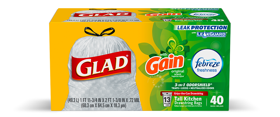 Kitchen Trash Bags | Glad®