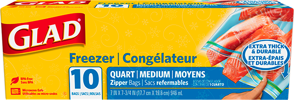 Freezer Zipper Quart