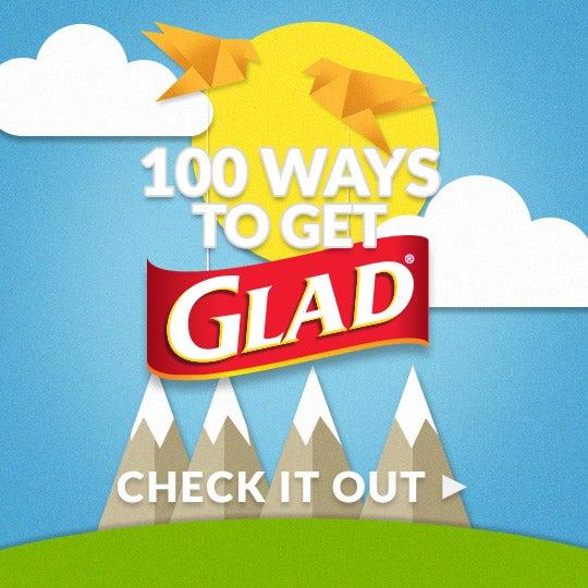 100 WAYS TO GET GLAD