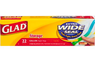Food Storage Zipper Gallon