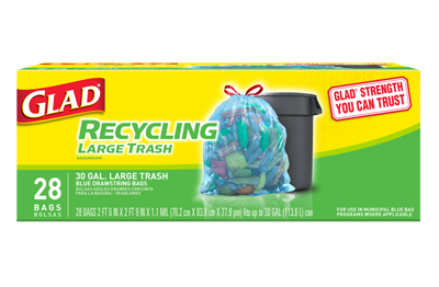 Recycling And Composting Bags Glad