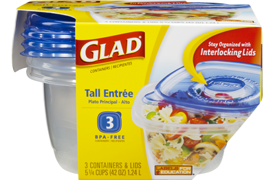 Food Container Tall Entr 233 E Gladware 174 Glad 174