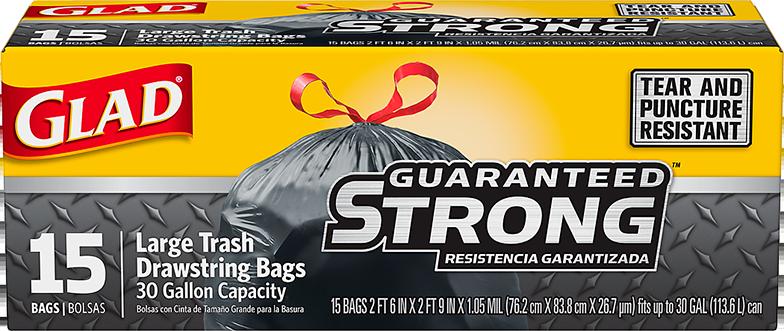 Black Bags Drawstring