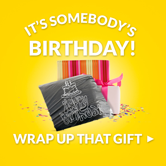 WRAP UP UNUSUAL GIFTS