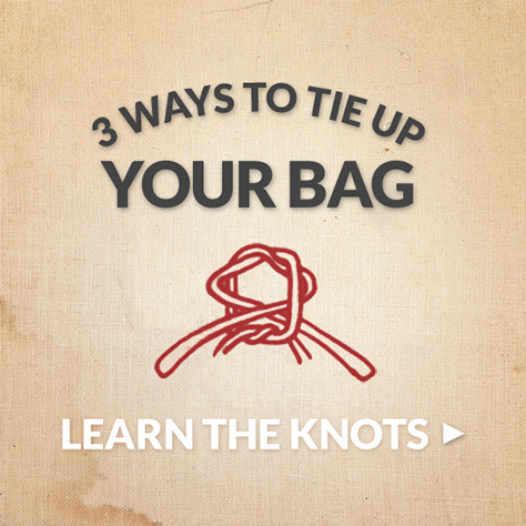 HOW DO YOU TIE THE KNOT?