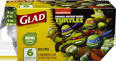 Teenage Mutant Ninja Turtles Mini Round
