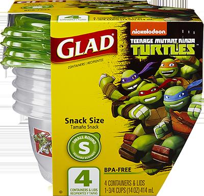 Teenage Mutant Ninja Turtles Snack Size