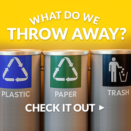 What's in our trash?