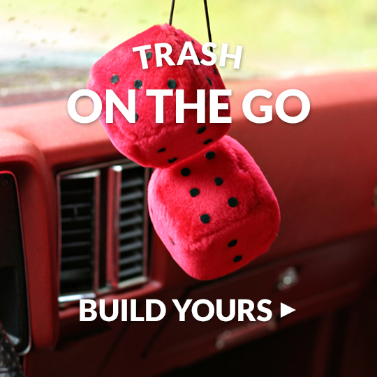 Take care of car trash