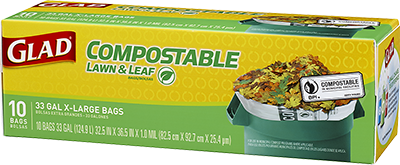 X-Large Compostable Lawn & Leaf Bags