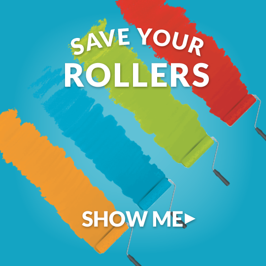 Roll-out-ready rollers