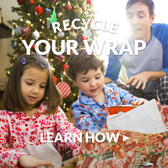Recycle Your Wrapping