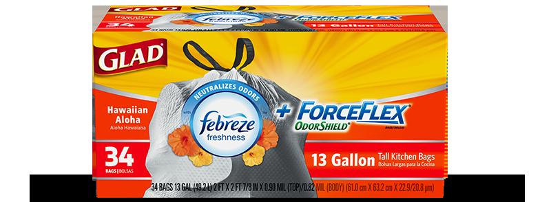 Kitchen ForceFlex® OdorShield® Hawaiian Aloha Scent