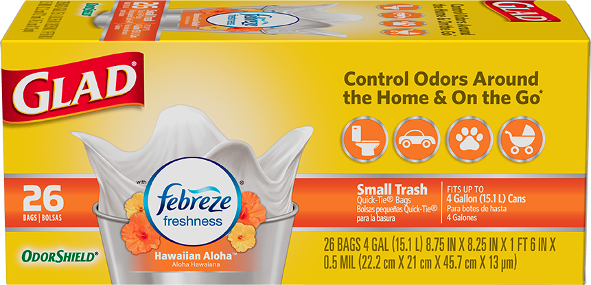 Small Garbage Scented Bags Hawaiian Aloha Scent