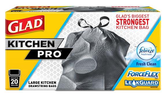 KitchenPro™ Drawstring Trash Bags | Glad®