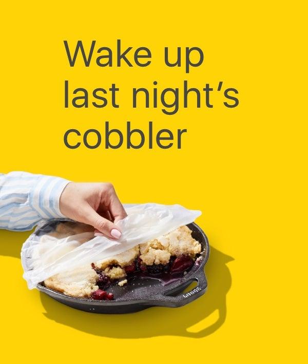Berry Cobbler Parfait