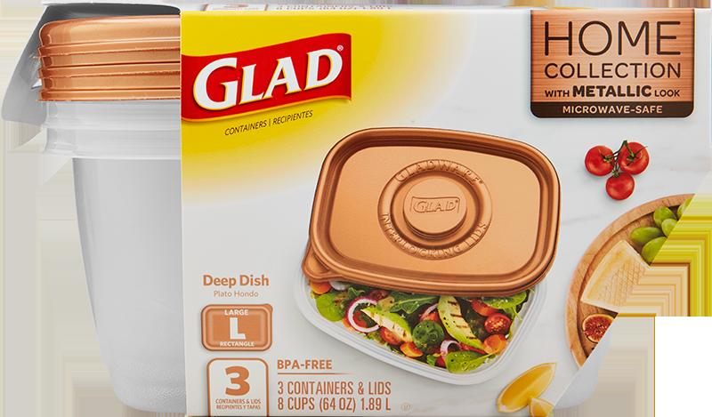 Glad<sup>®</sup> Deep Dish