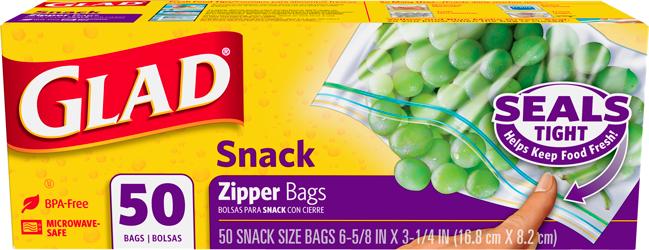 Food Storage Zipper Snack