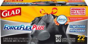ForceFlexPlus Large Bags Hawaiian Aloha Scent