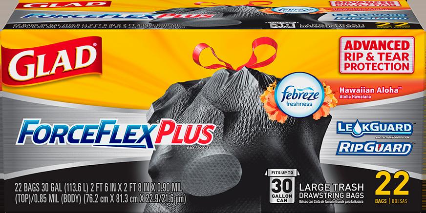 ForceFlex® Plus™ Large Bags Hawaiian Aloha Scent