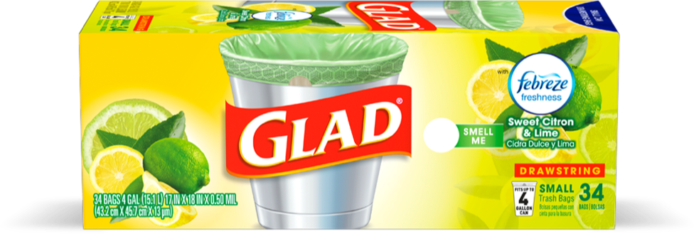 Sweet Citron & Lime® Small Garbage Bags