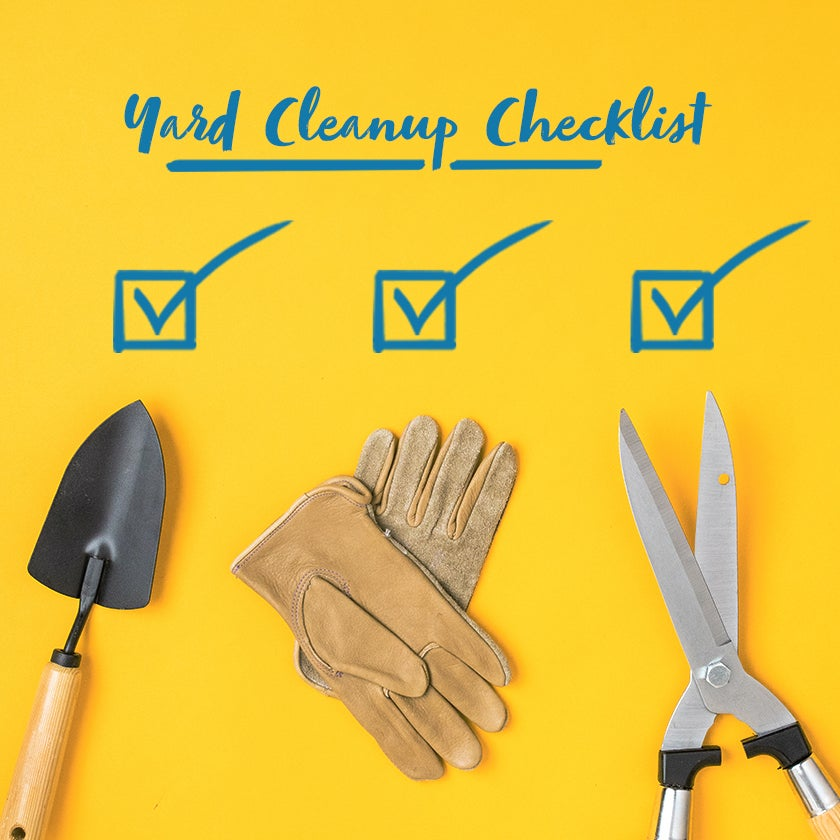 Full Yard Maintenance and Yard cleanup checklist