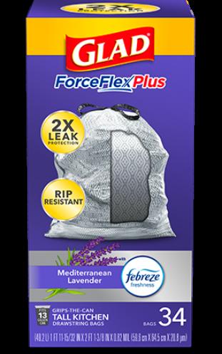 Bolsas ForceFlexPlus para Cocina con aroma Mediterranean Lavender