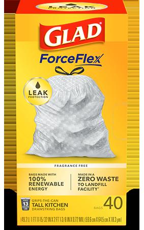 Kitchen ForceFlex Bags Unscented