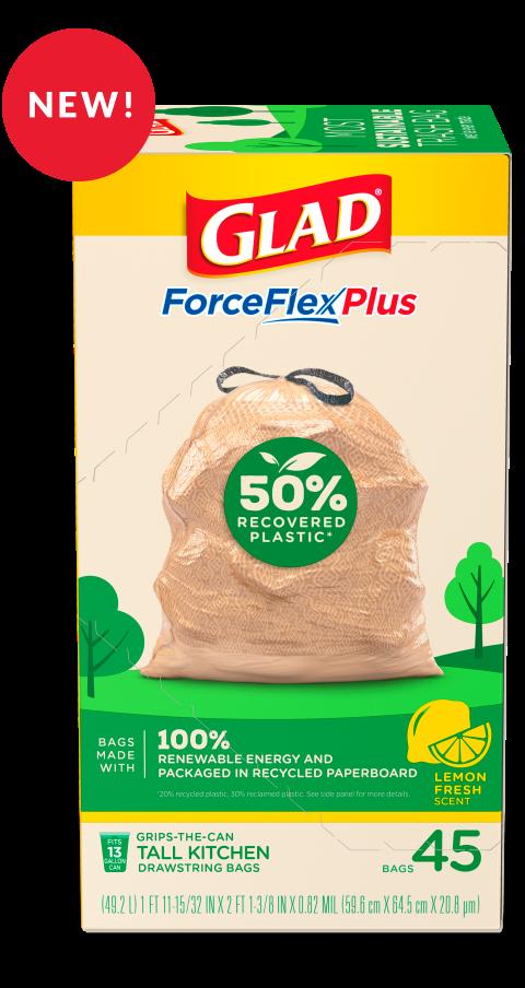 ForceFlexPlus Recovered Materials Bag Lemon Fresh Scent