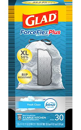 Kitchen ForceFlexPlus XL Bags Fresh Clean Scent