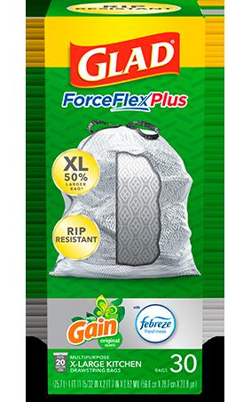 Bolsas ForceFlexPlus XL para Cocina con aroma Gain Original